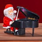 Weihnachtsmann am Flügel