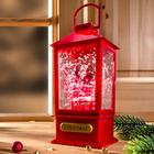 LED-Laterne mit Weihnachtsmusik
