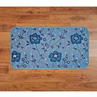 Küchenteppich blau, 50 x 90 cm