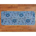 Küchenteppich blau, 50 x 120 cm