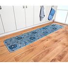 Küchenteppich blau, 50 x 200 cm