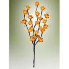 """LED-Leuchtzweig """"Blumen"""" gelb"""