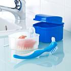3-tlg. Reingungsset für Zahnprothesen