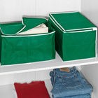 Ordnungsboxen 2er-Set grün