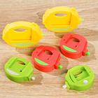 Tütenclips mit Magnet, 6er-Set