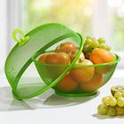 Früchtekorb grün, 2-tlg,