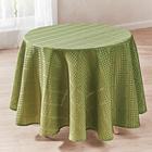 Tischdecke grün, Ø 140 cm