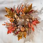 LED-Herbstkranz