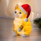 LED-Weihnachtskätzchen