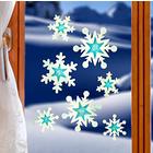 """Fensterbild """"Schneeflocken"""""""