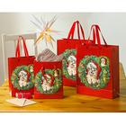 """Geschenktüten """"Weihnachtskätzchen"""", 4er-Set"""
