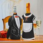 """Weinkleidung """"Er & Sie"""", 2er-Set"""