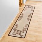 Teppich beige, 57 x 240 cm