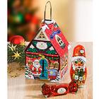 Weihnachtshäuschen gefüllt