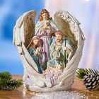 Engel mit Heiliger Familie