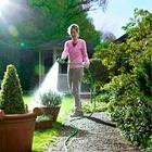 Gartenschlauch mit Sprühpistole