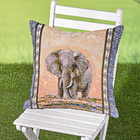 "Kissenhülle ""Elefant"", 45 x 45 cm"