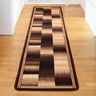 Teppich braun-beige, 57 x 240 cm