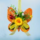 Sisal-Schmetterling orange