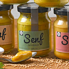 Gartenkräuter-Senf