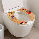"""WC-Kissen """"Blumen"""", 2-tlg."""