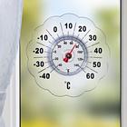 """Fenster-Außenthermometer """"Blüte"""""""