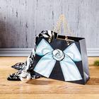 Geschenktasche schwarz