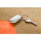 Schlüsselfinder weiß/silber