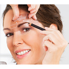 Augenbrauen-Schablonen, 4er-Set