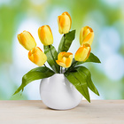 Tulpenstrauß gelb