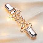 """Clipverschluss """"Perlen"""" rosé/gold"""