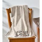 """Handtuch """"Für SIE"""" beige"""