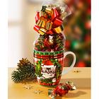 """1 Kaffeebecher """"Weihnachtskätzchen"""""""