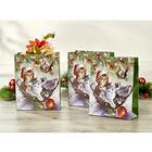 """Geschenktüten """"Weihnachtskätzchen"""", 3er-Set"""