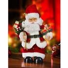 Weihnachtsmann mit Musik