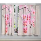"""Vorhang """"Orchideen"""""""
