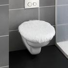 "WC-Deckelbezug ""Webfell"""