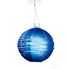 Solar-Lampion blau