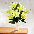 Lilien-Bouquet gelb