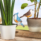 Vogel-Dekoration, 3-tlg.