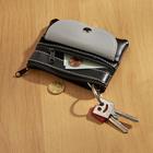 Geldbörse/Schlüsseletui 2-in-1