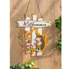 """Herbstschild """"Willkommen"""""""