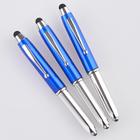 Touchpen-Kugelschreiber mit Taschenlampe