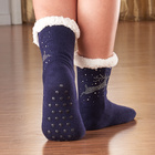 Stopper-Socken dunkelblau, 1 Paar
