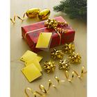 Geschenkverpackung goldfarben, 12-tlg.