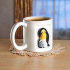 """3D-Tasse """"Pinguin"""""""