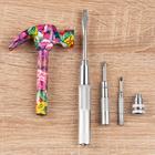 """Werkzeug-Set """"Blumen-Hammer"""", 5-tlg."""
