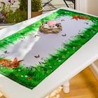 """Tischläufer """"Hasen"""", 40 x 90 cm"""