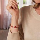 "Magnet-Armband ""Marienkäfer"""