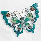Schmetterling petrolblau